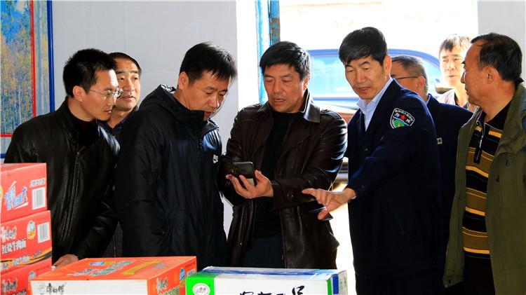 林区第六防火督导组到莫尔道嘎林业局督导森林防火工作