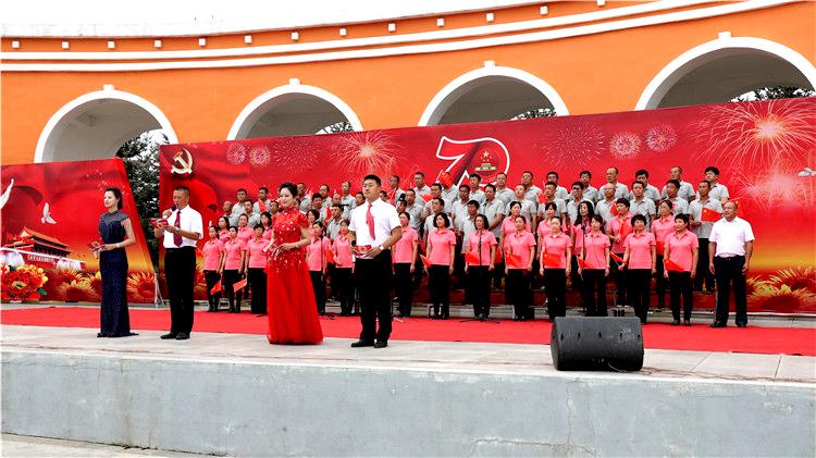 吉文林业局召开庆祝新中国成立70周年大合唱演出