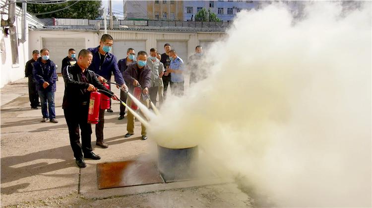 林海日报社举办2020年度消防安全知识培训班