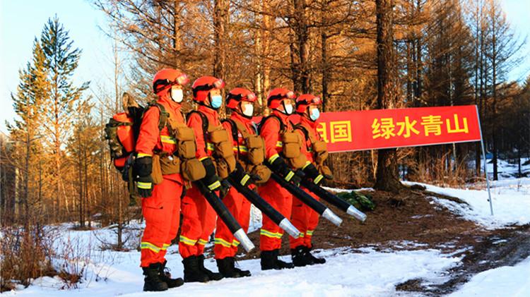 """清明节,林区各地全面打响""""森林安全保卫战"""""""