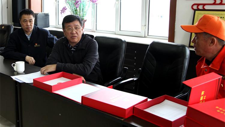 赵宝军到金河森工公司检查督导防灭火工作和党史学习教育