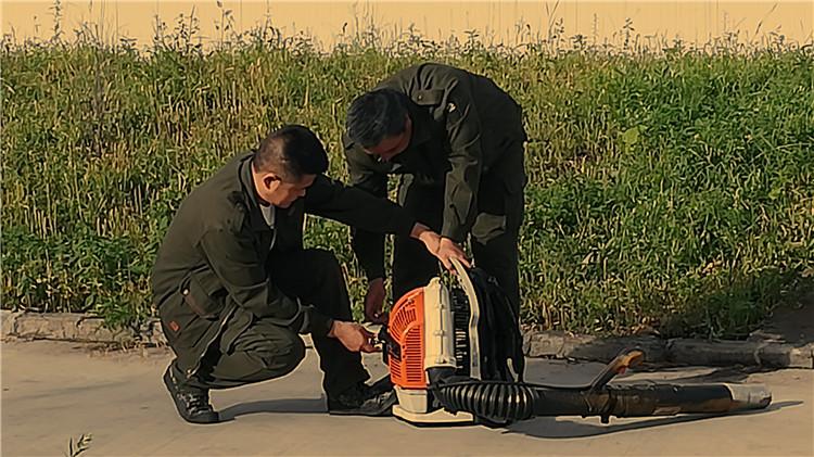 莫尔道嘎林业局防火处检修防扑火器具
