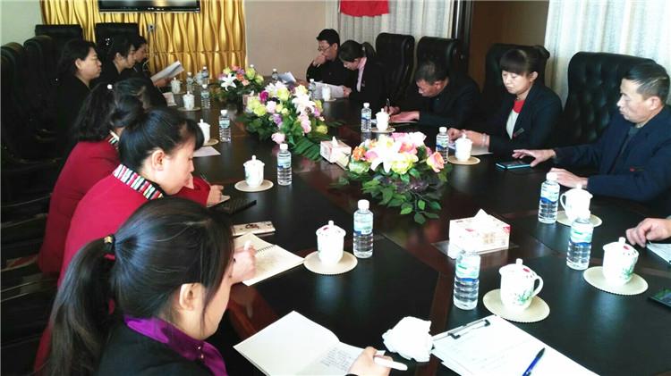 乌尔旗汉林业局黎明宾馆党支部开展手抄党章活动