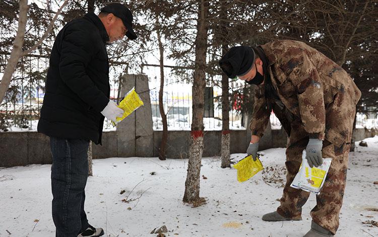 大杨树林业局森防站开展林地害鼠治理工作