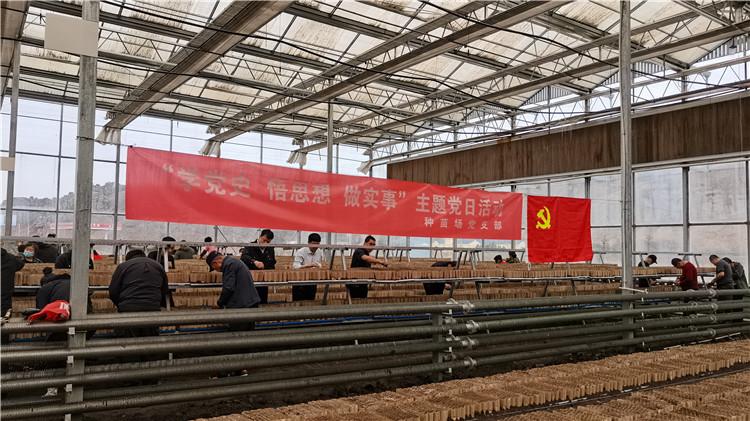 阿尔山林业局有限公司种苗场(种子站)党支部开展主题党日活动