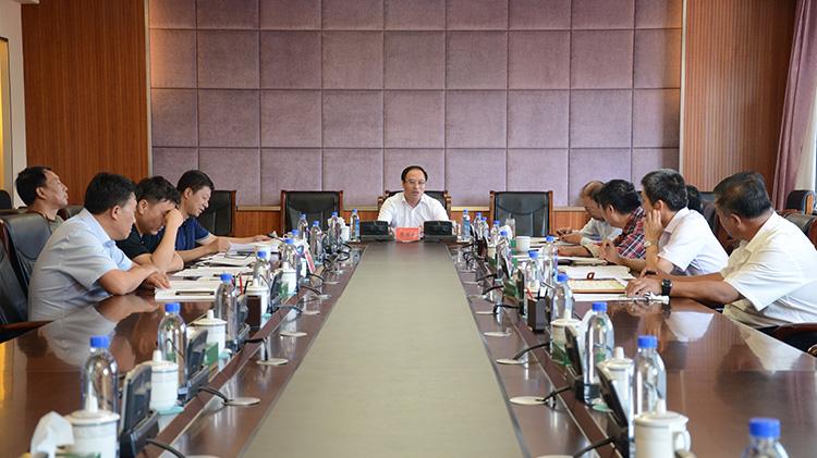 管理局党委深化国有林区改革领导小组工作会议召开