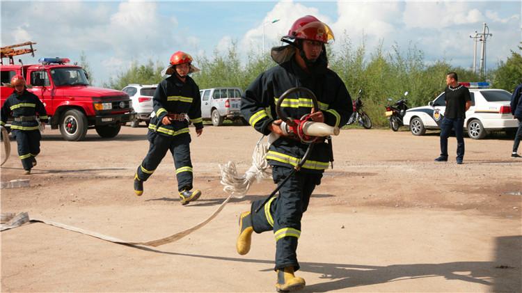 克一河林业局开展生产安全事故应急处置实战大演练