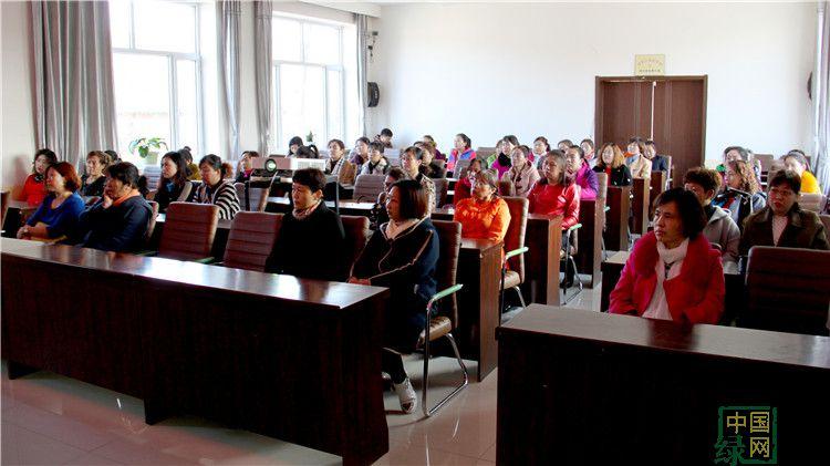 绰尔林业局举办女职工健康知识讲座