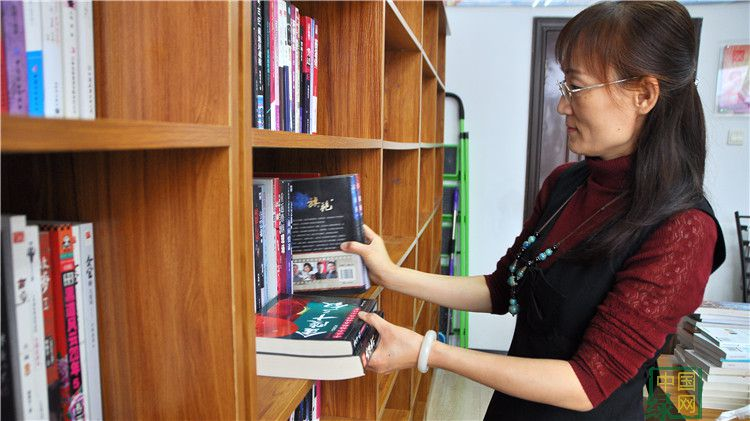 库都尔林业局图书阅览室新添置一千余册书籍