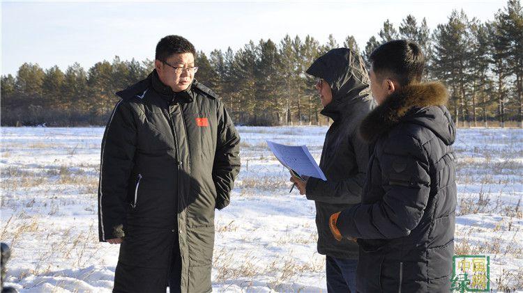 内蒙古电视台到图里河林业局采访
