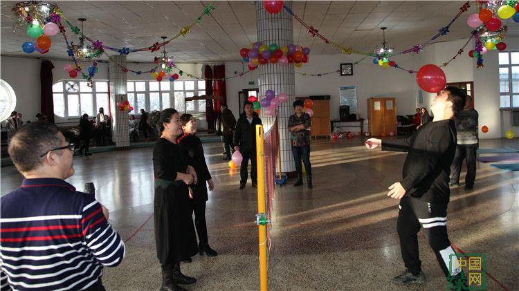 林直机关举办迎新年趣味运动会