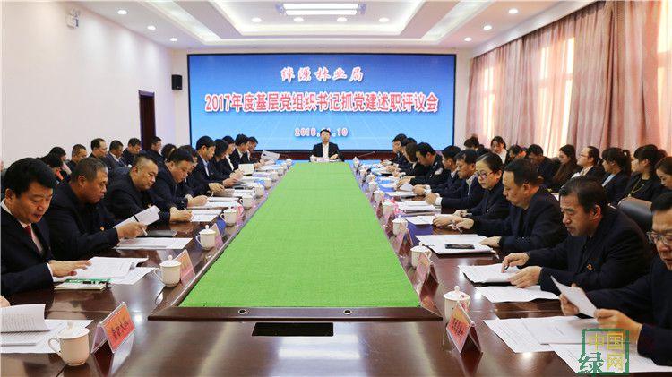 绰源林业局召开2017年度基层党组织书记抓党建述职评议会