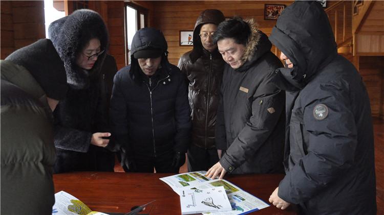 国家林业局调研组一行到图里河林业局调研