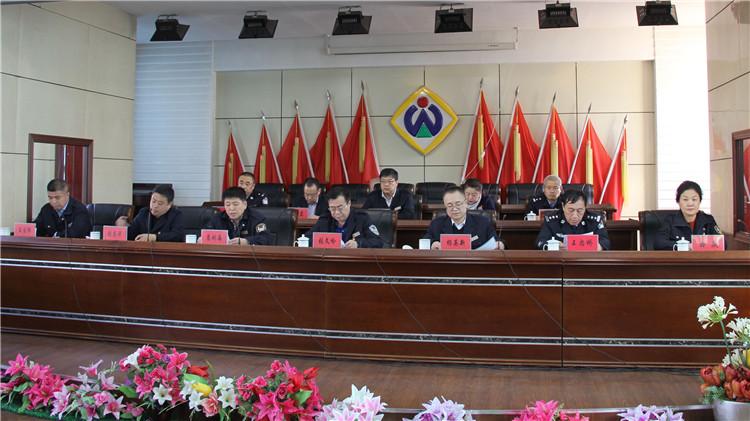 吉文林业局召开2018年春季森林防火工作会议