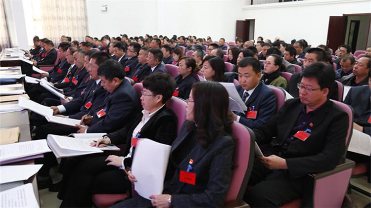 阿龙山林业局2018年度党建、经济工作会议暨十届十六次职代会召开