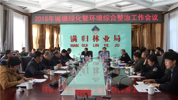 满归林业局召开城镇绿化暨环境综合整治工作会议