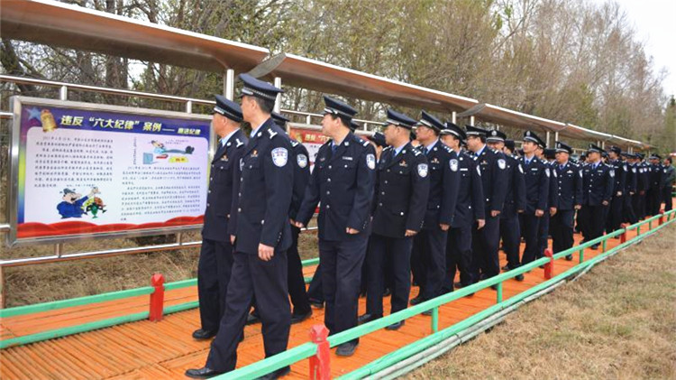 乌尔旗汉森林公安局组织民警参观反腐倡廉警示教育基地