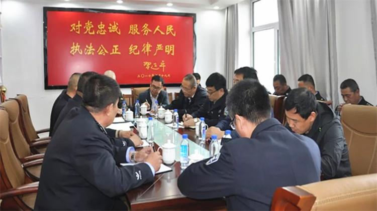 乌尔旗汉林业局和乌尔旗汉森林公安局召开工作对接座谈会