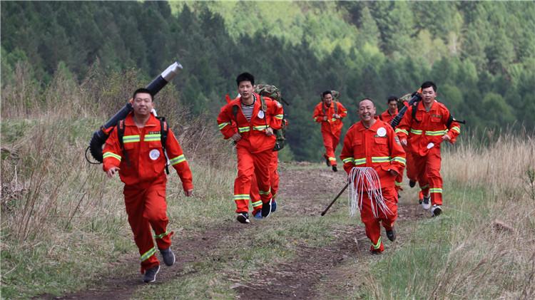 吉文林业局开展森林消防岗位技能比武大赛