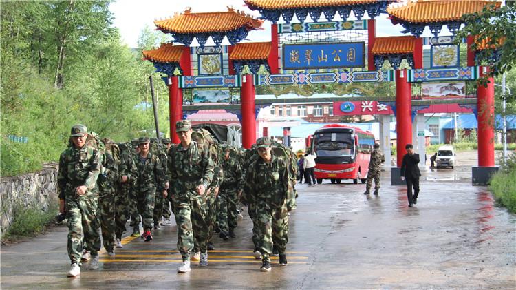 """香港华润集团青年""""拥抱绿色健康 共享生态文明""""走近大森林体验行活动在满归林业局举行"""