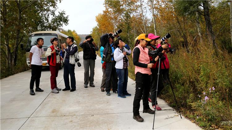 九月绰尔迎北京摄影爱好者