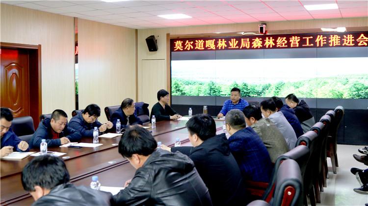 莫尔道嘎林业局召开森林经营工作推进会