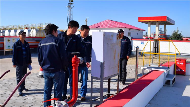 兴安石油公司开展国庆节前安全生产大检查