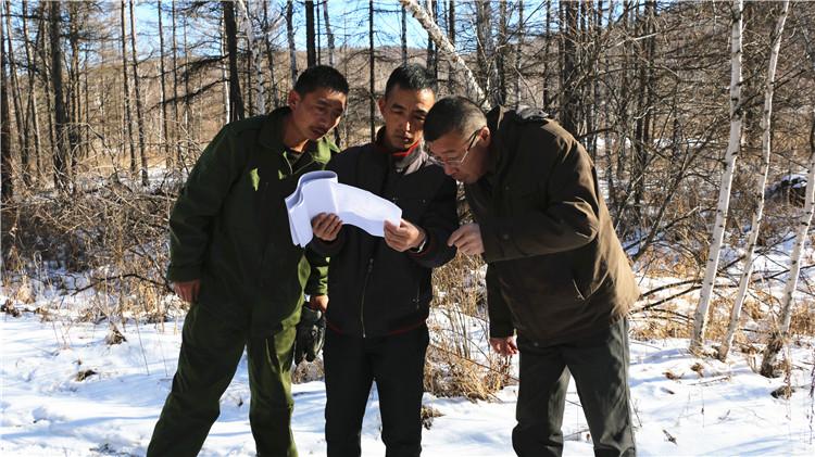 绰源林业局开展景观林分验收工作