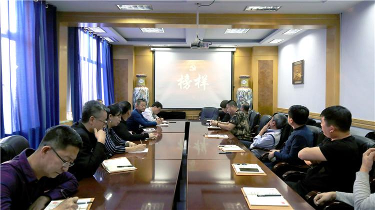 根河林业局党委组织党员收看《榜样3》