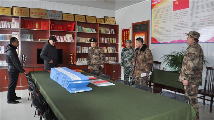 呼伦贝尔军分区领导到乌尔旗汉林业局检查指导工作