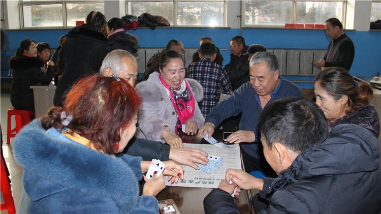 绰尔林业局举办离退休职工棋牌赛