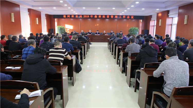 根河林业局召开2019年森林经营管理工作会议