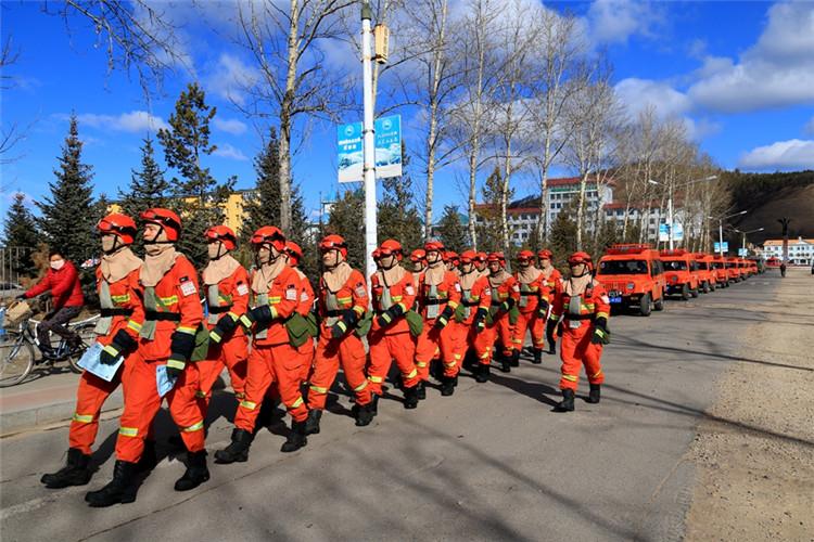 莫尔道嘎林区开展大型森林防火宣传活动