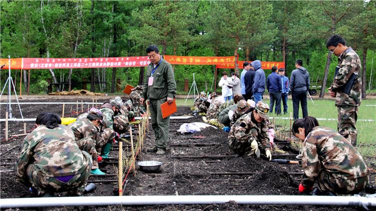 莫尔道嘎林业局举办育苗工职业技能比赛