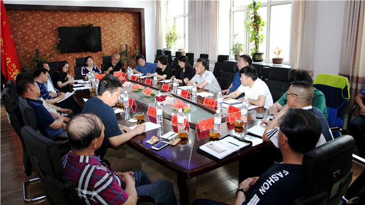 管理局党委宣传部召开林业题材文艺作品创作研讨会