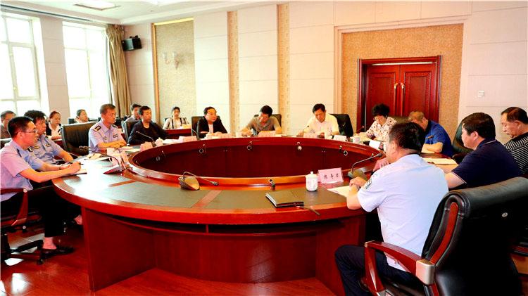 阿里河林业局党委召开扫黑除恶专项斗争工作推进会