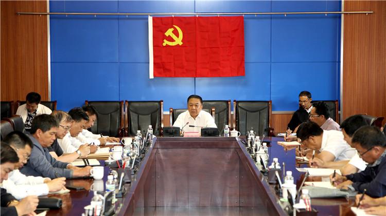 韩锡波为分管部门、单位党员干部讲专题党课