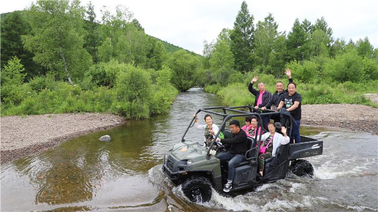 绰源林业局精心打造旅游产业吸引八方来客