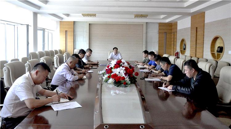 图里河林业局召开道路工程建设第三次推进会