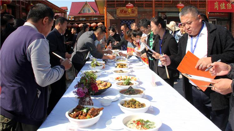 莫尔道嘎林业局举办第三十二届职工系列技能比赛之森林美食大赛