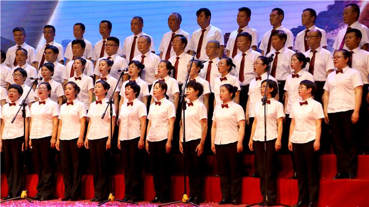 管理局举办庆祝中华人民共和国成立70周年职工群众大合唱