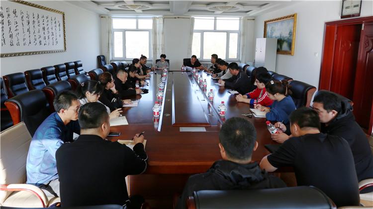 绰尔林业局党委宣传部召开通讯员例会