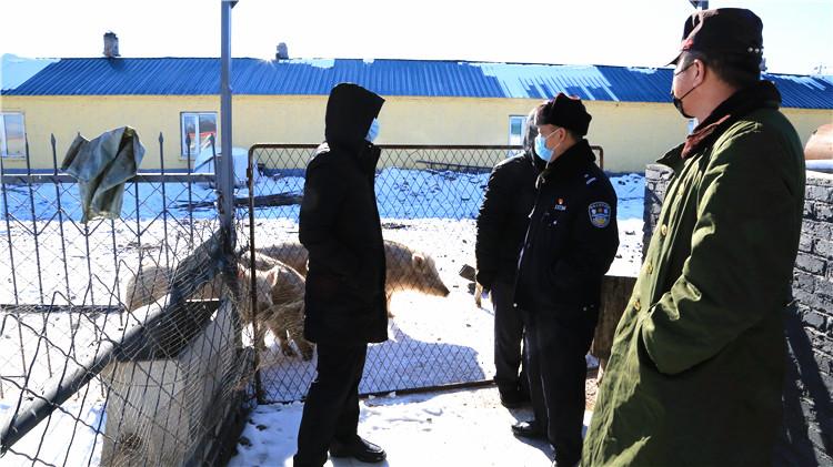 根河林业局开展野生动物疫情防控专项检查
