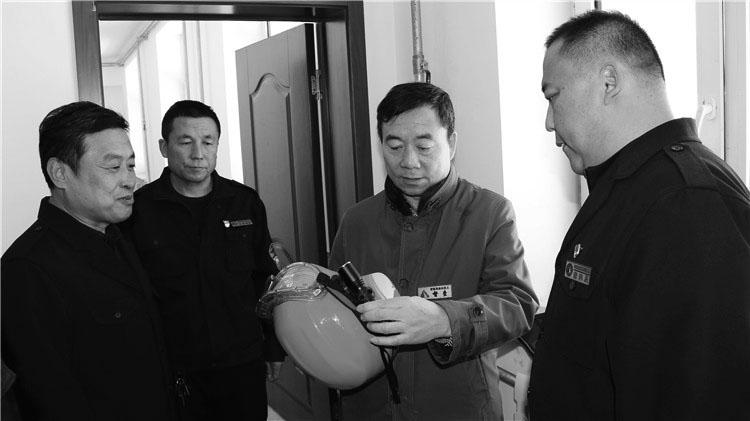 管理局森林防灭火第五督导组到吉文林业局检查指导工作