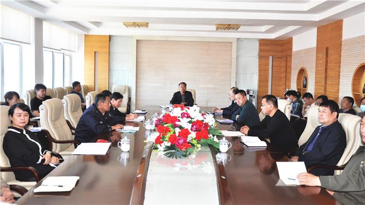 图里河林业局召开森林防灭火工作调度会