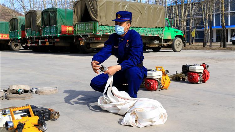莫尔道嘎林区开展水泵防灭火训练