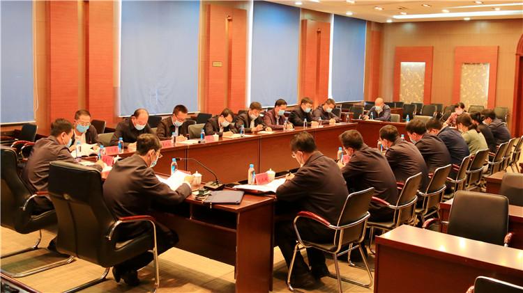 莫尔道嘎林业局党委召开2020年度意识形态工作会议