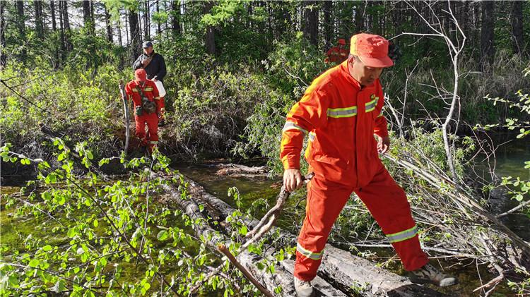 图里河林业局圆满完成援外扑火作战任务平安归来