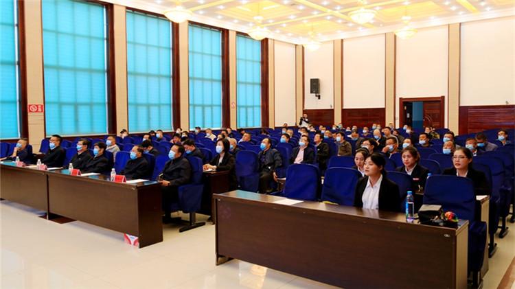 莫尔道嘎林业局举办安全生产月主题宣讲报告会
