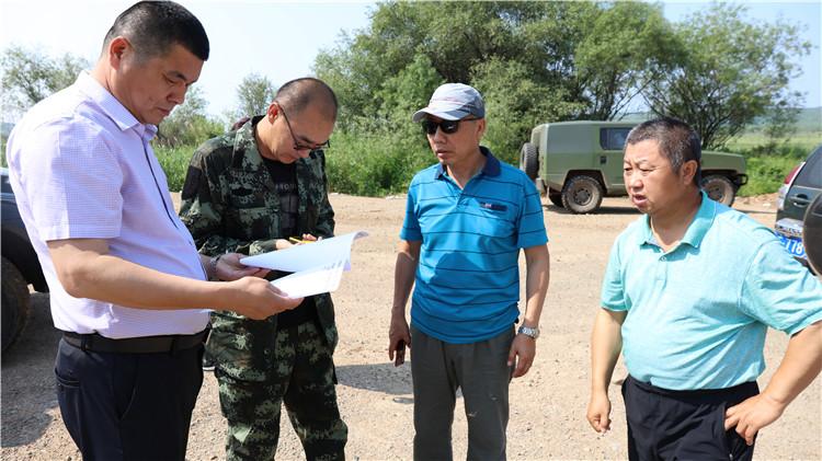 大杨树林业局深入开展重点项目施工情况督查